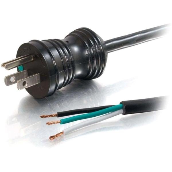 C2G 6ft 18 AWG Hospital Grade Power Cord (NEMA 5-15P to ROJ 125V) - B