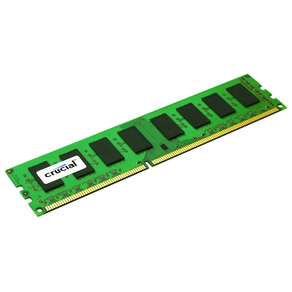 Crucial 2GB, 240-Pin DIMM, DDR3 PC3-10600 Memory Module