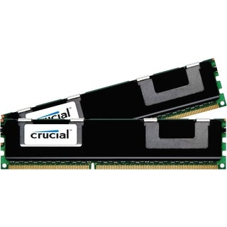 Crucial 8GB Kit (4GBx2), 240-pin DIMM, DDR3 PC3-10600 Memory Module