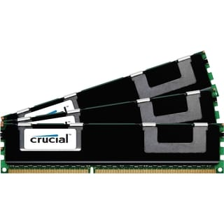 Crucial 12GB Kit (4GBx3), 240-pin DIMM, DDR3 PC3-10600 Memory Module