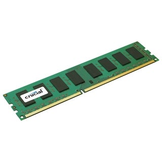 Crucial 8GB, 240-Pin DIMM, DDR3 PC3-10600 Memory Module