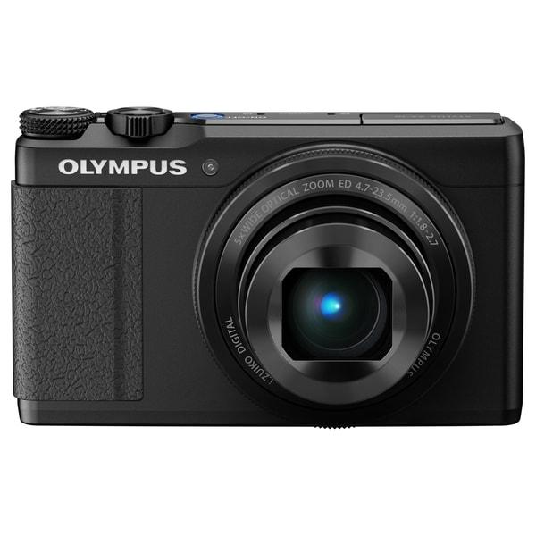 Olympus Creator XZ-10 12 Megapixel Compact Camera - Black
