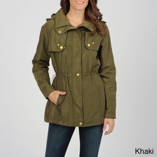 Utex Women's Water-Resistant Hooded Anorak