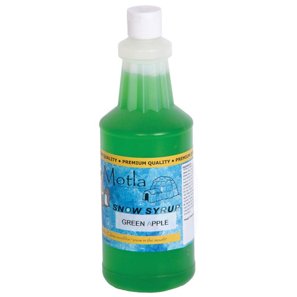 Overstock.com Paragon Motla Green Apple 1-quart Snow Cone Syrup at Sears.com