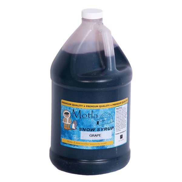 Motla Grape Snow Cone Syrup (1 Gallon)