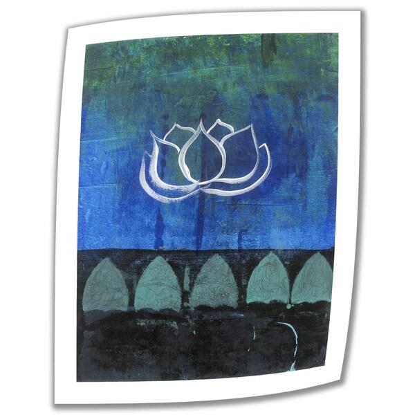 Elena Ray 'Lotus Blossom' Unwrapped Canvas 10744988
