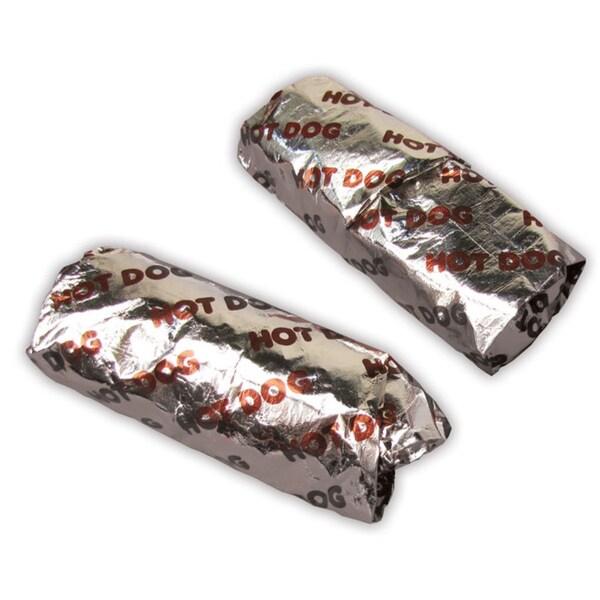 Paragon Hot Dog Foil Wraps (500 Count)