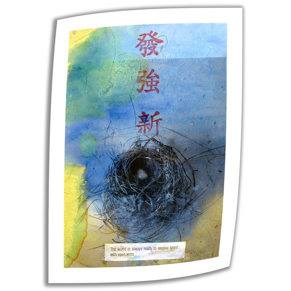 Elena Ray 'Good Fortune' Unwrapped Canvas 10745055
