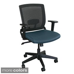 Managers Mesh Chair with Black Plastic Base