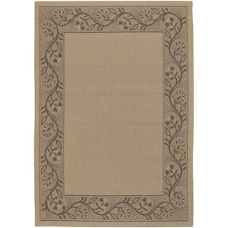 Five Seasons Tuscana/ Cream-Brown Rug (8'6 x 13')