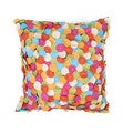 Contemporary Muliti Color Square 18-inch Pillow