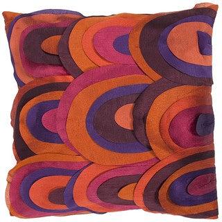 Bohemian Style Multi Color 18-inch Square Decorative Pillow