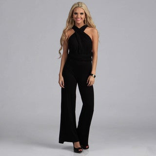 Tabeez Women's Multi-way Maxi Jumpsuit