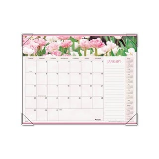 Recycled Floral Panoramic Desk Pad (22 x 17)