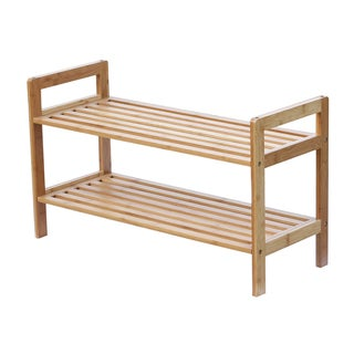 As well as bamboo, it features unique finish along with design that versatile to fill your rooms with elegance. Both cedar and bamboo shoe rack organizers