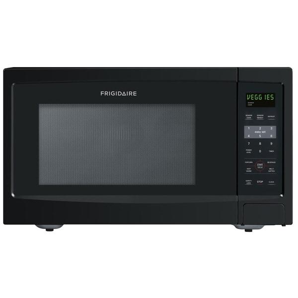 Frigidaire 1.6 Cubic Foot Black Countertop Microwave