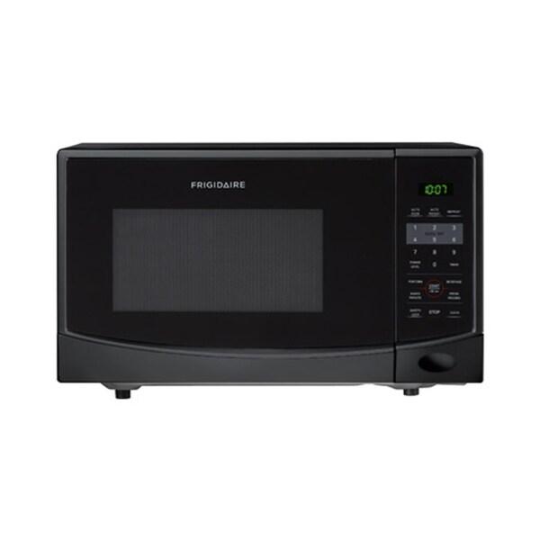 Frigidaire 0.9 Cubic Foot Black Countertop Microwave