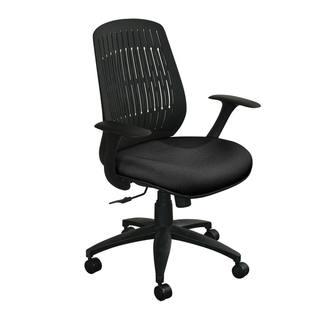 Marvel Flex Back Wave Chair with Black Base