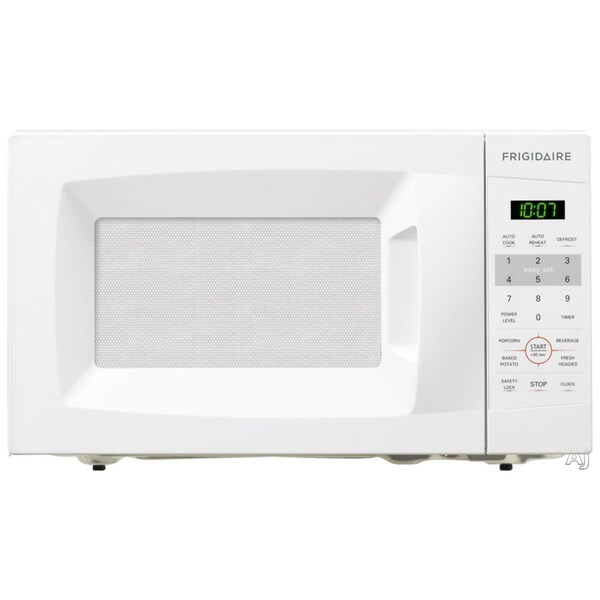 Countertop Microwave White : Frigidaire 0.7 Cu. Ft. White Countertop Microwave - 15179150 ...