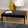 Rectangle Faux Leather Coffe Table/ Bench