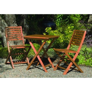 Phat Tommy Bistro Hardwood Table Set with Chairs