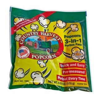 Country Harvest Popcorn Portion Packs for 4-ounce Machine (Case of 24)