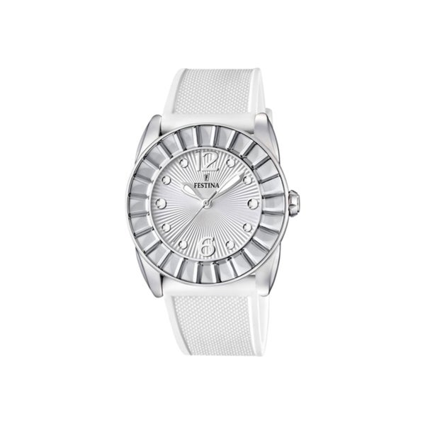 Festina Women's White Stainless Steel Watch