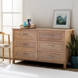 Olympus Natural Six-Drawer Dresser