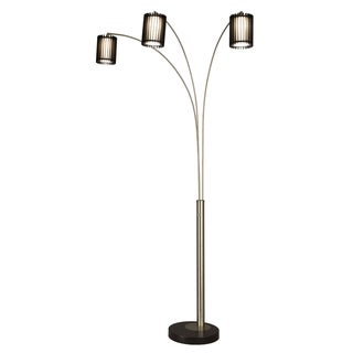 Steccia 3-light Arc Floor Lamp