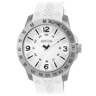 Breda Men's 'Aiden' Stainless Steel Tachymeter Watch