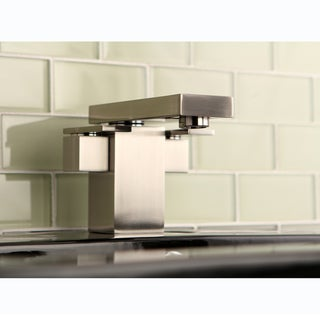 Euro Satin Nickel Bathroom Faucet