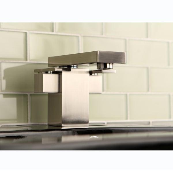 Euro Satin Nickel Bathroom Faucet
