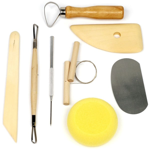 Stalwart 8-piece Pottery and Clay Modeling Tools