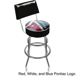 Officially Licensed GM Pontiac Swivel Bar Stool