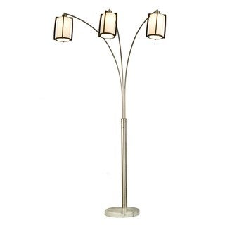 Britta 3-Light Arc Floor Lamp