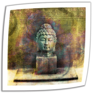 Elena Ray 'Buddha' Unwrapped Canvas