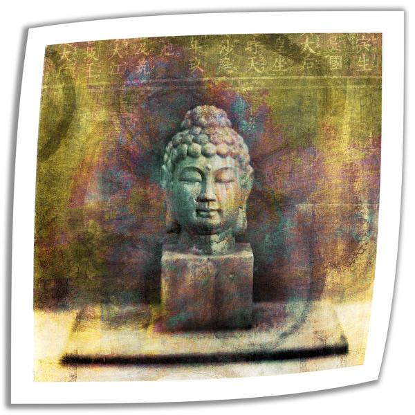 Elena Ray 'Buddha' Unwrapped Canvas