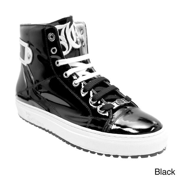 Galliano Men's Slightly Padded Hi-Top Fashion Sneaker