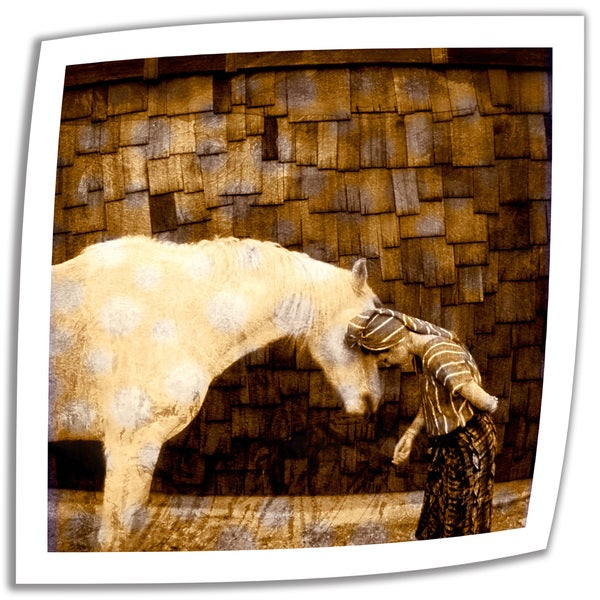Elena Ray 'Horse Whisperer' Unwrapped Canvas