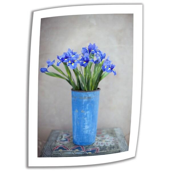 Elena Ray 'Iris Flowers' Unwrapped Canvas 10747305