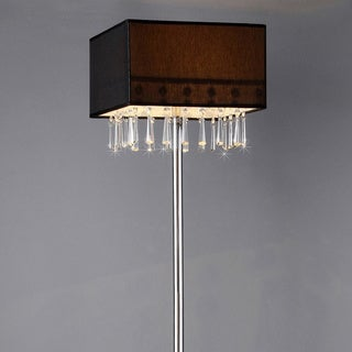 Hyperion Chrome Floor Lamp