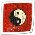 Elena Ray 'Yin Yang' Unwrapped Canvas