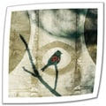 Elena Ray 'Yoga Bird 2' Unwrapped Canvas