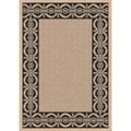 Indoor/ Outoor Rug Barrymore Beige and Black Area (2'7 x 5'11)