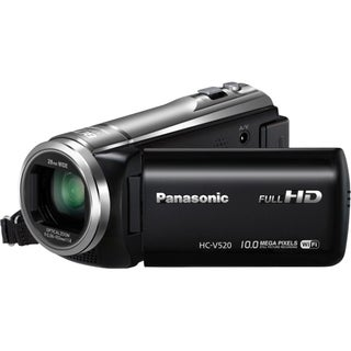 "Panasonic HC-V520 Digital Camcorder - 3"" LCD - BSI MOS - Full HD"