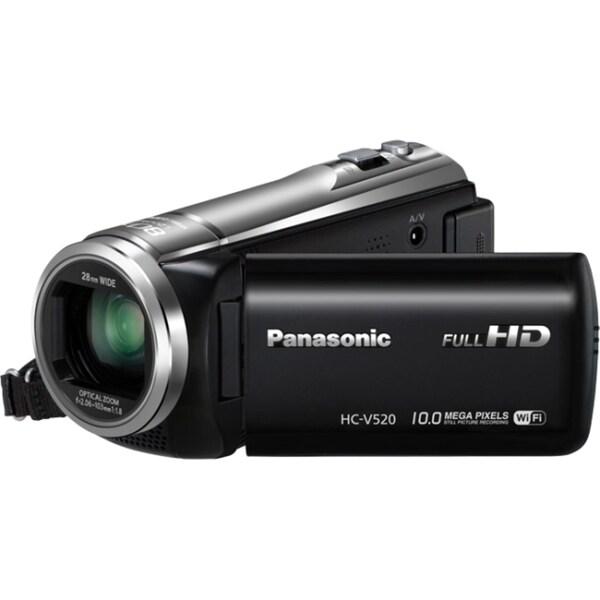 "Panasonic HC-V520 Digital Camcorder - 3"" LCD - BSI MOS - Full HD"