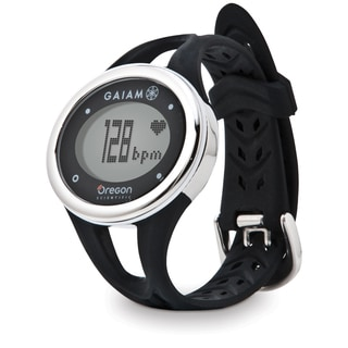 Oregon Scientific Heart Rate Black Monitor Watch