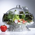 UZO1 Salad on Ice Bowl and Server Set
