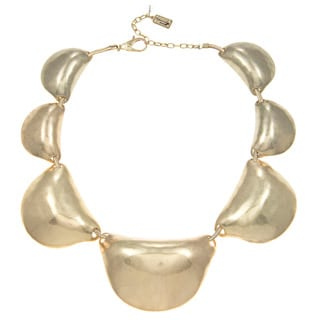 Kenneth Cole Goldtone Sculpture Necklace