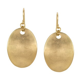 Kenneth Cole Goldtone Sculpture Drop Earrings